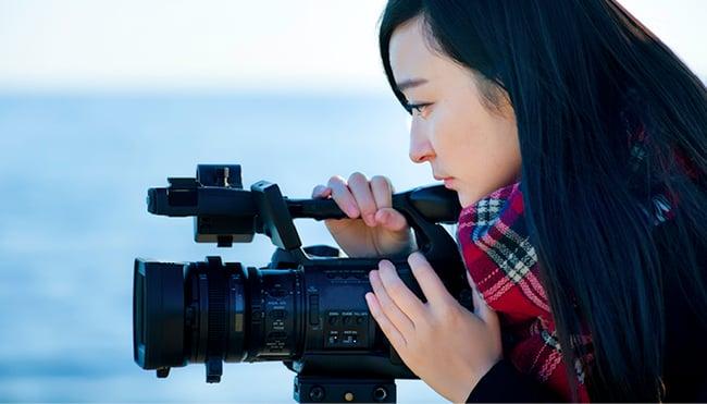 A Filmmaking student